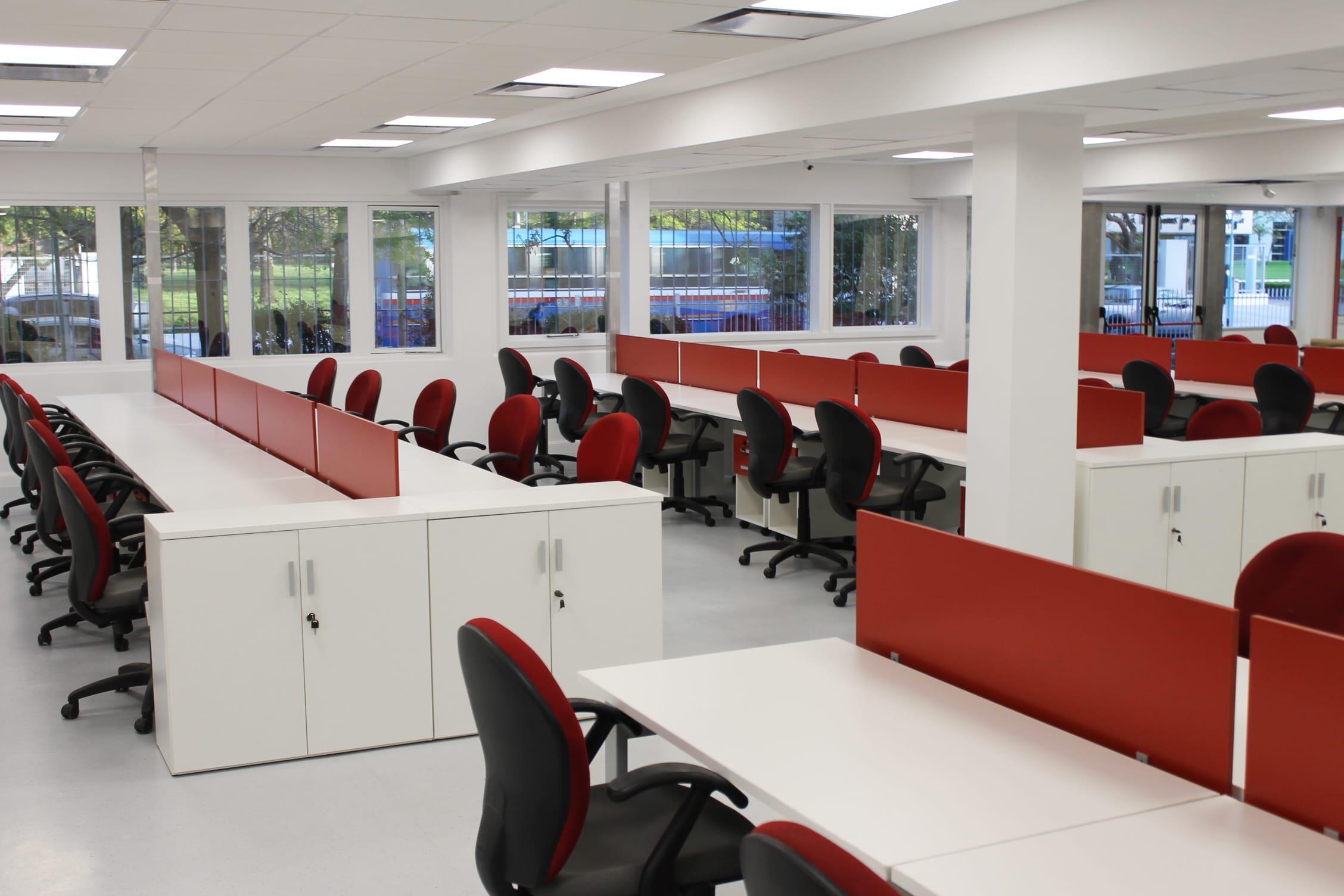 Makro oficinas centrales aspect arquitectura corporativa for Oficinas makro madrid