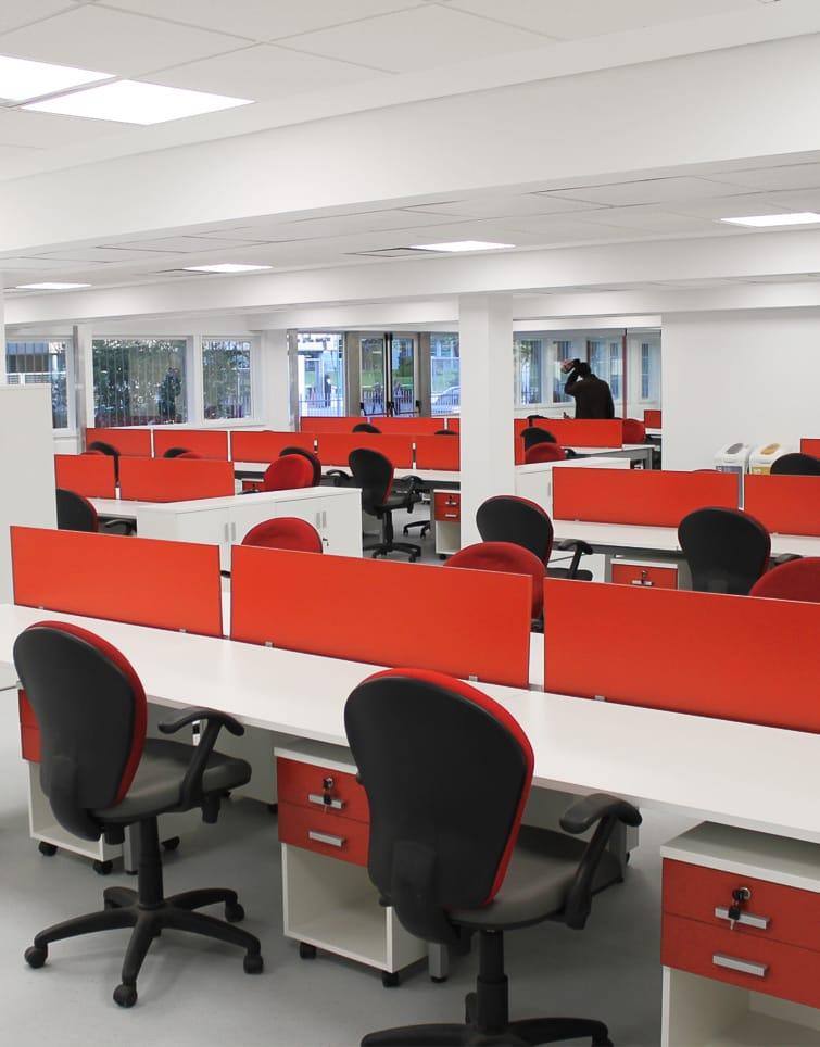 Makro oficinas centrales aspect arquitectura corporativa for Grupo vips oficinas centrales