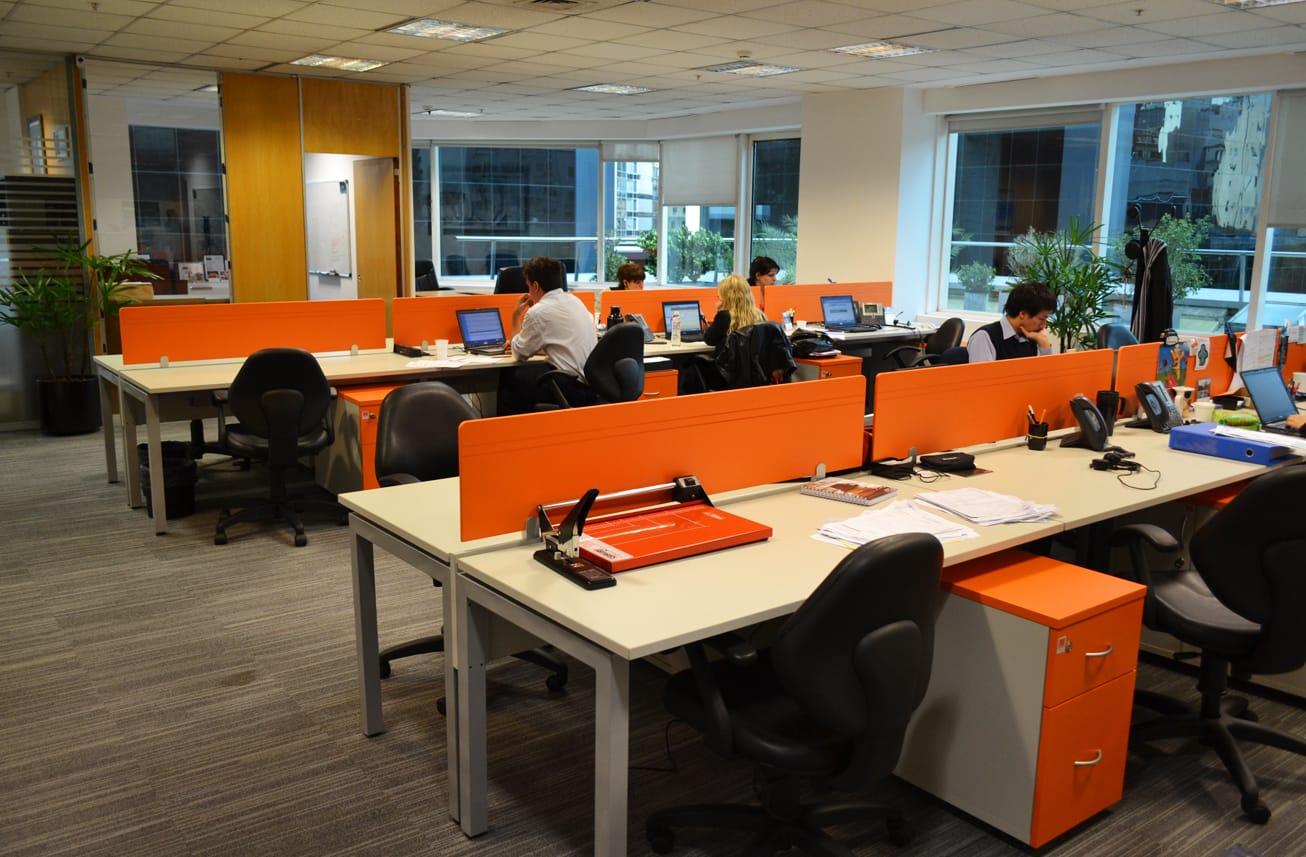 orange oficinas aspect arquitectura corporativa