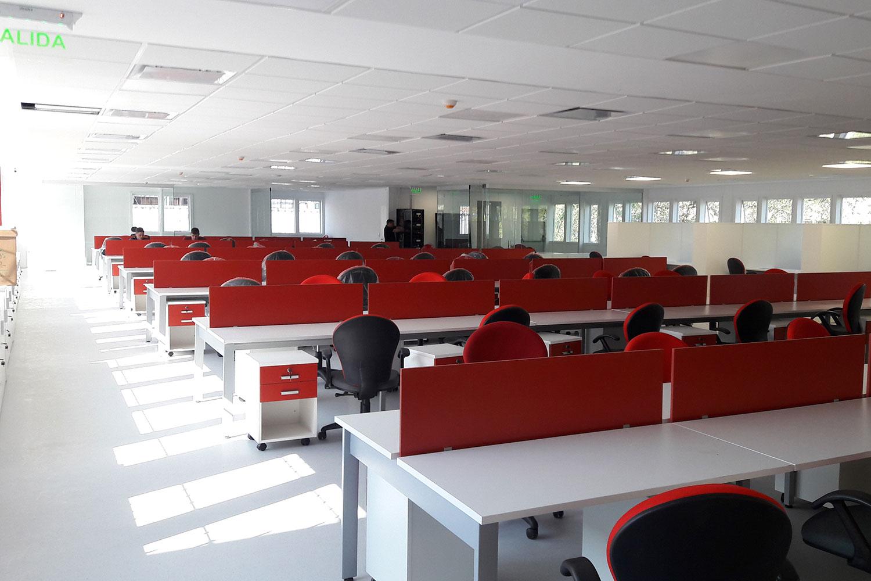 makro oficinas centrales aspect arquitectura corporativa